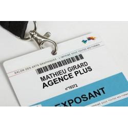 Badges Pass PVC XXL...