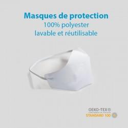 Masques de Protection 100% polyester